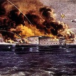 Federal Troops Attack Fort Sumter, South Carolina