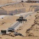 Israeli border defense along the Sinai
