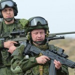 Russian Troops Displaying Future Weapons and Equipment