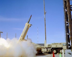 THAAD missile launch in 2005  Source: http://www.mda.mil/