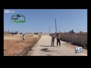 ISIL Stinger Missile Launch