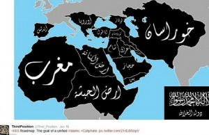 ISIL Caliphate Map