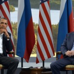 Putin and Obama at the G8 Summit